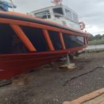 External repairs to Pilot boat
